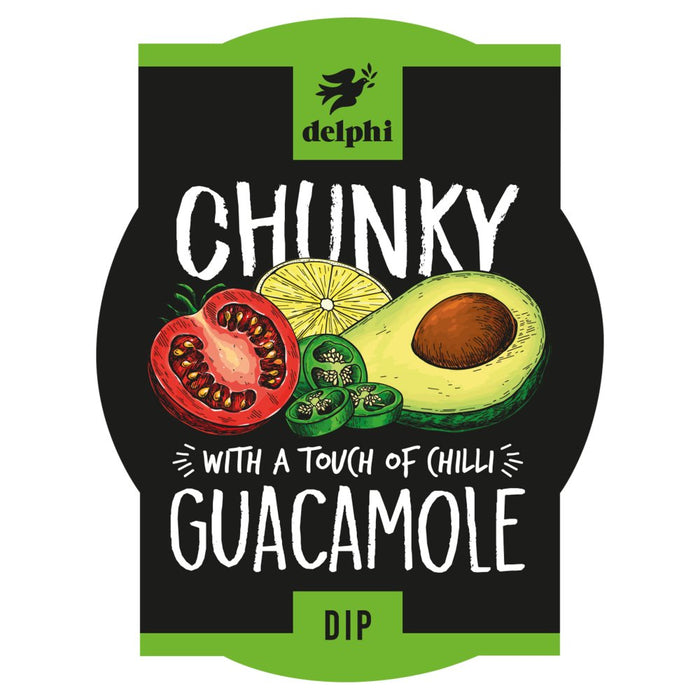 Delphi Chunky Guacamole (with a hint of chilli) - 170g