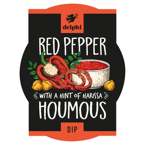 Delphi Red Pepper Houmous - 170g