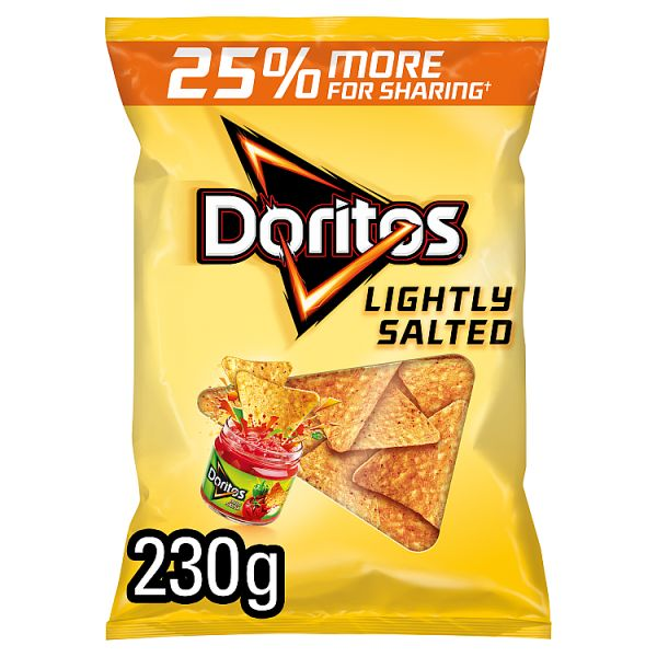 Doritos - Lightly Salted Sharing Bag - 230g
