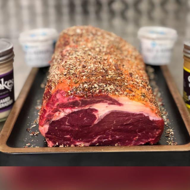Peppered Rib-Eye Roasting Joint - 1.2Kg
