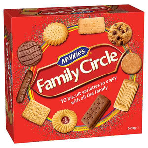McVitie's Family Circle Biscuit Selection - 620g