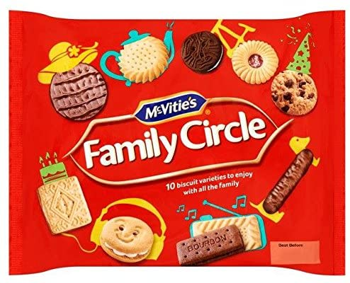 McVitie's Family Circle Biscuit Selection - 360g