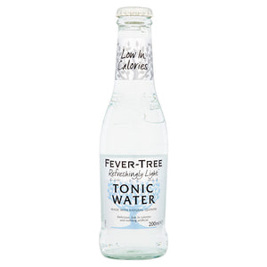 Fever Tree Low Calorie Tonic Water - 24x200ml-Watts Farms