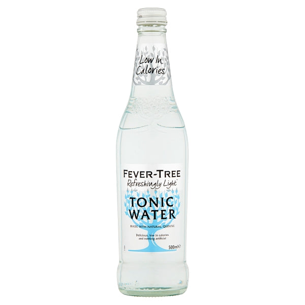 Fever Tree Light Tonic Water Large Bottle - 500ml