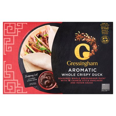 Gressingham - Aromatic Whole Crispy Duck - 1.2kg
