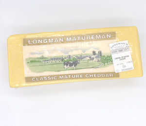 Cheddar Cheese Mature - 5kg Block-Watts Farms