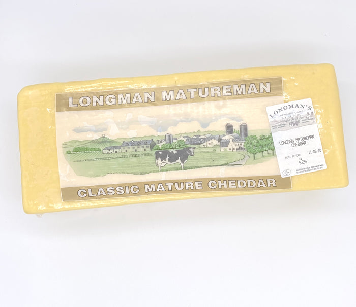 Cheddar Cheese Mature - 5kg Block