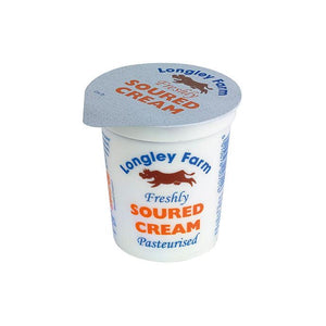 Soured Cream - Longley Farm - 150ml-Watts Farms