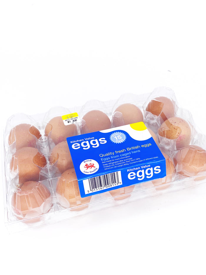 Eggs Colony Lion Stamped Medium - Pack of 15