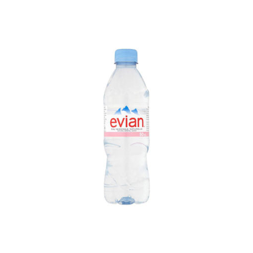 Evian Still Mineral Water - 24x50cl