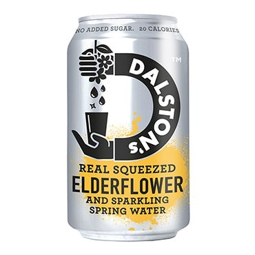 Dalston's Fizzy Elderflower - 24*330ml