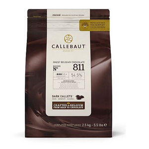 Callebaut Dark (54.5%) Chocolate Pellets - 2.5kg-Watts Farms
