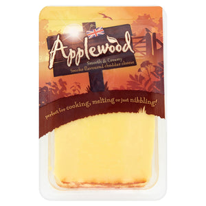 Applewood Smoked Cheddar - 200g-Watts Farms