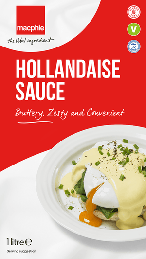 Macphie - Hollandaise Sauce - 1ltr-Watts Farms