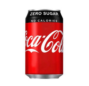 Coca-Cola Zero Cans - 24*330ml-Watts Farms