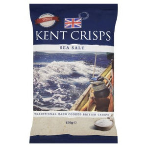 Kent Crisps - Sea Salt - Big Bag - 150g-Watts Farms