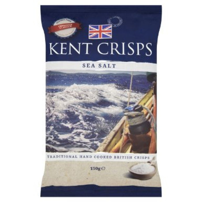 Kent Crisps - Sea Salt - Big Bag - 150g