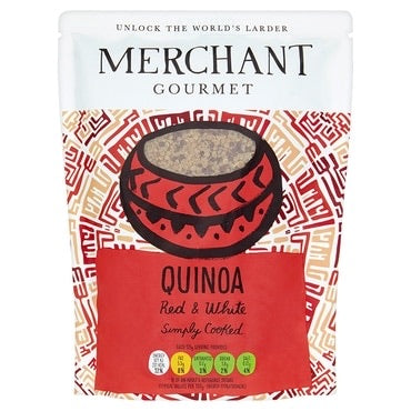 Cooked Red & White Quinoa - 250g