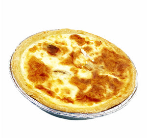 Lizzie's Handmade Cheese & Ham Quiche 15cm - Each  (4-6 portions)