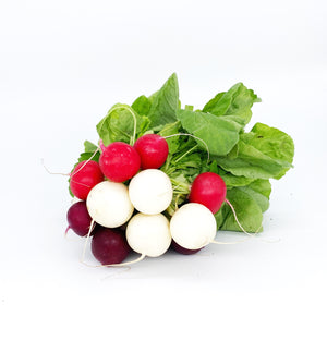 Radish - Heritage Mixed Colour - Bunch-Watts Farms