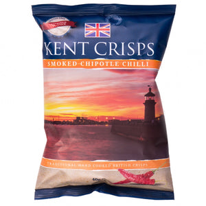 Kent Crisps - Smoked Chipotle Chilli- 20x40g-Watts Farms