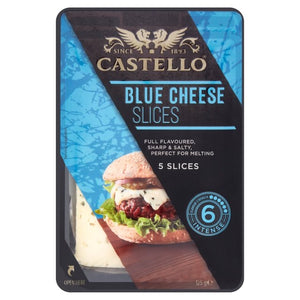 Blue Cheese Slices - Castello- 125g-Watts Farms