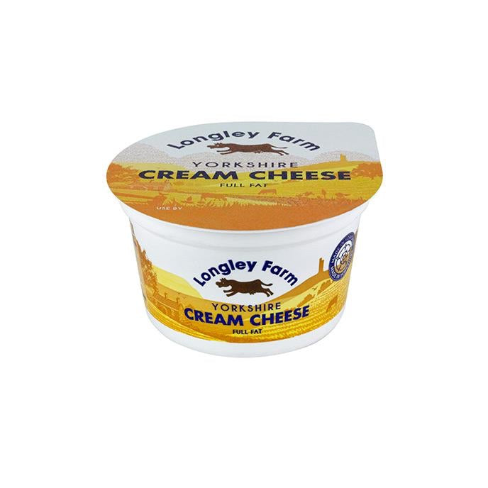 Cream Cheese Full Fat - Longley Farm - 200g