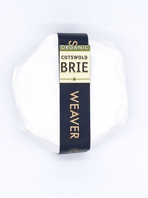 Organic Cotswold Brie - 240g-Watts Farms