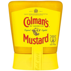Colman's English Mustard Squeezy - 150g-Watts Farms