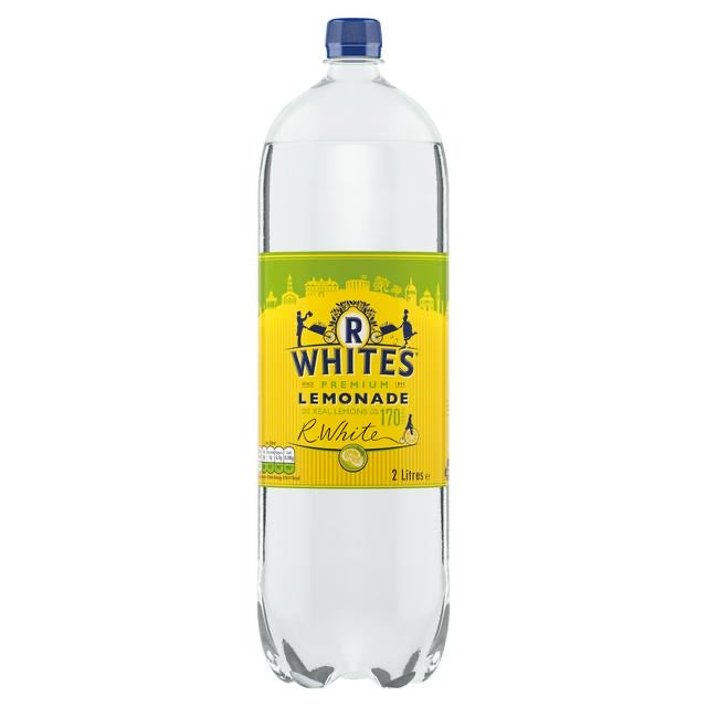R White's Premium Lemonade - 2Ltr