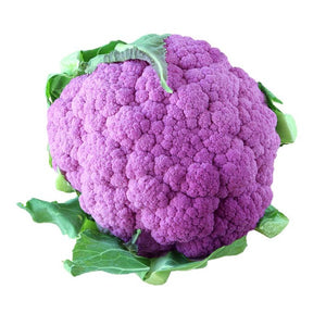 Cauliflower Purple - each