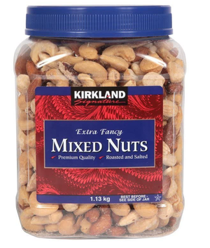 Extra Fancy - Roasted Unsalted Mixed Nuts - 1.13kg
