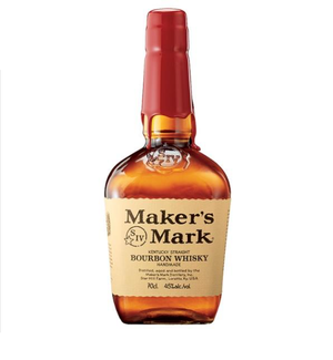 Maker's Mark Bourbon Handmade Whisky - 70Cl