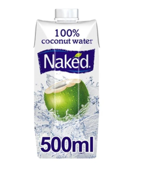 Naked 100% Coconut Water - 500ml