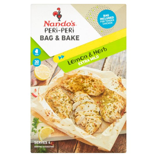 Nando's Peri-Peri Bag & Bake - Lemon & Herb -Pack