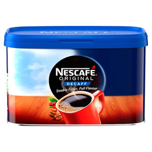Coffee Nescafe Original Instant Decaffeinated Coffee  - 500g Tub