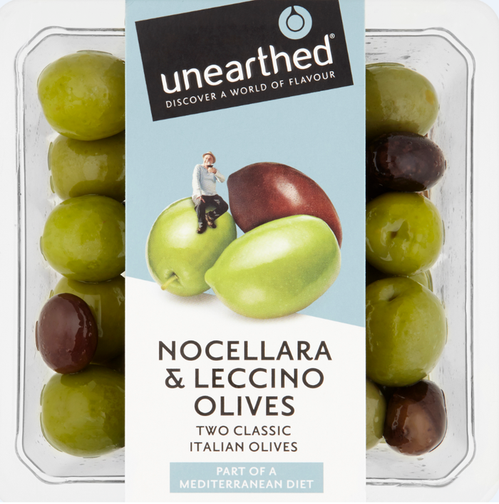 Unearthed - Olives - Nocellara & Leccino - 220g