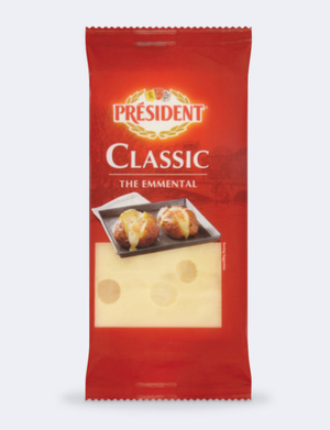 President Cheese - Emmental Cheese Block - 200g-Watts Farms