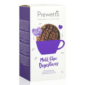 Prewett's Gluten Free Chocolate Digestive Biscuits - 165g-Watts Farms