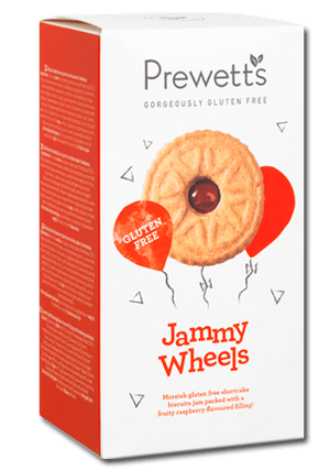 Prewett's Gluten Free Jammy Wheel Biscuits - 160g-Watts Farms