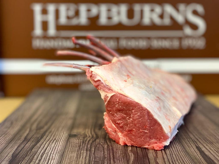 Hepburns Free Range Rack of Lamb -(approx 600g)