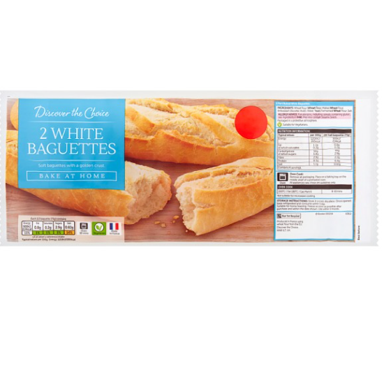 Ready to Bake Baguettes - Twin Pack