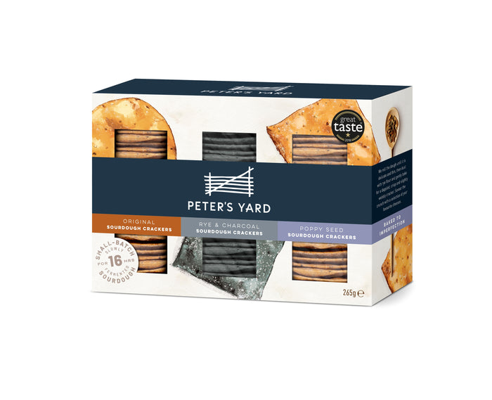 Peter's Yard Sourdough Crispbread Selection Box - 265g