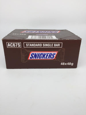 Snickers Chocolate Bar - 48x48g-Watts Farms