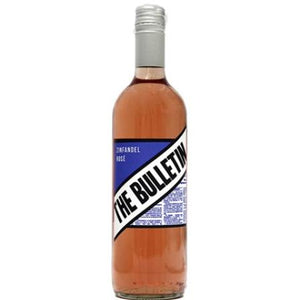 Rose Wine Zinfandel- The Bulletin- California USA -75cl-Watts Farms