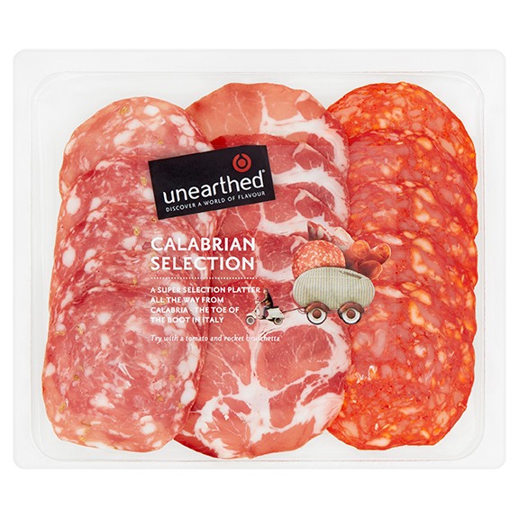 Unearthed - Calabrian Antipasto Platter - 90g