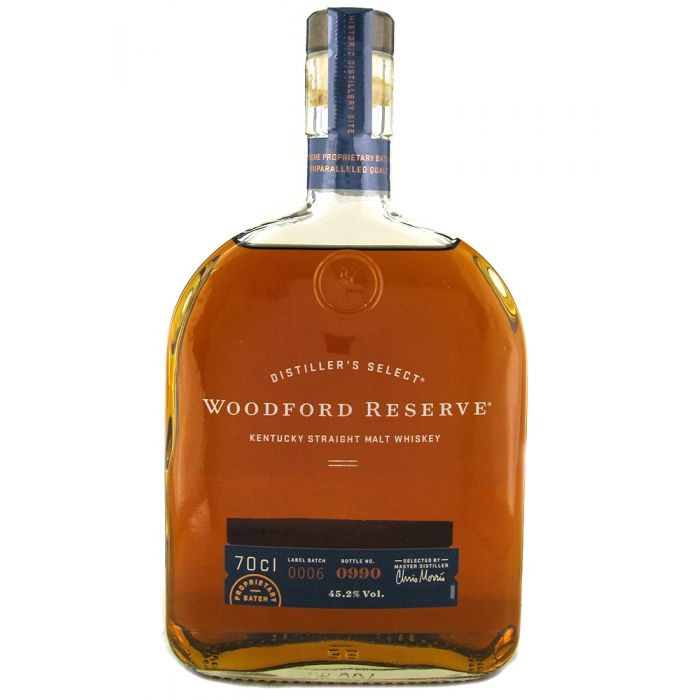 Woodford Reserve Kentucky Straight Bourbon Whiskey - 70cl
