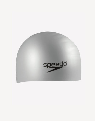 Speedo Silicone Long Hair Cap#color_grey