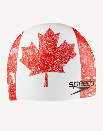Speedo Canada Cap#color_red