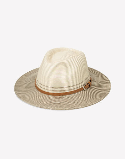 Wallaroo Women's Petite Kristy Fedora#color_white